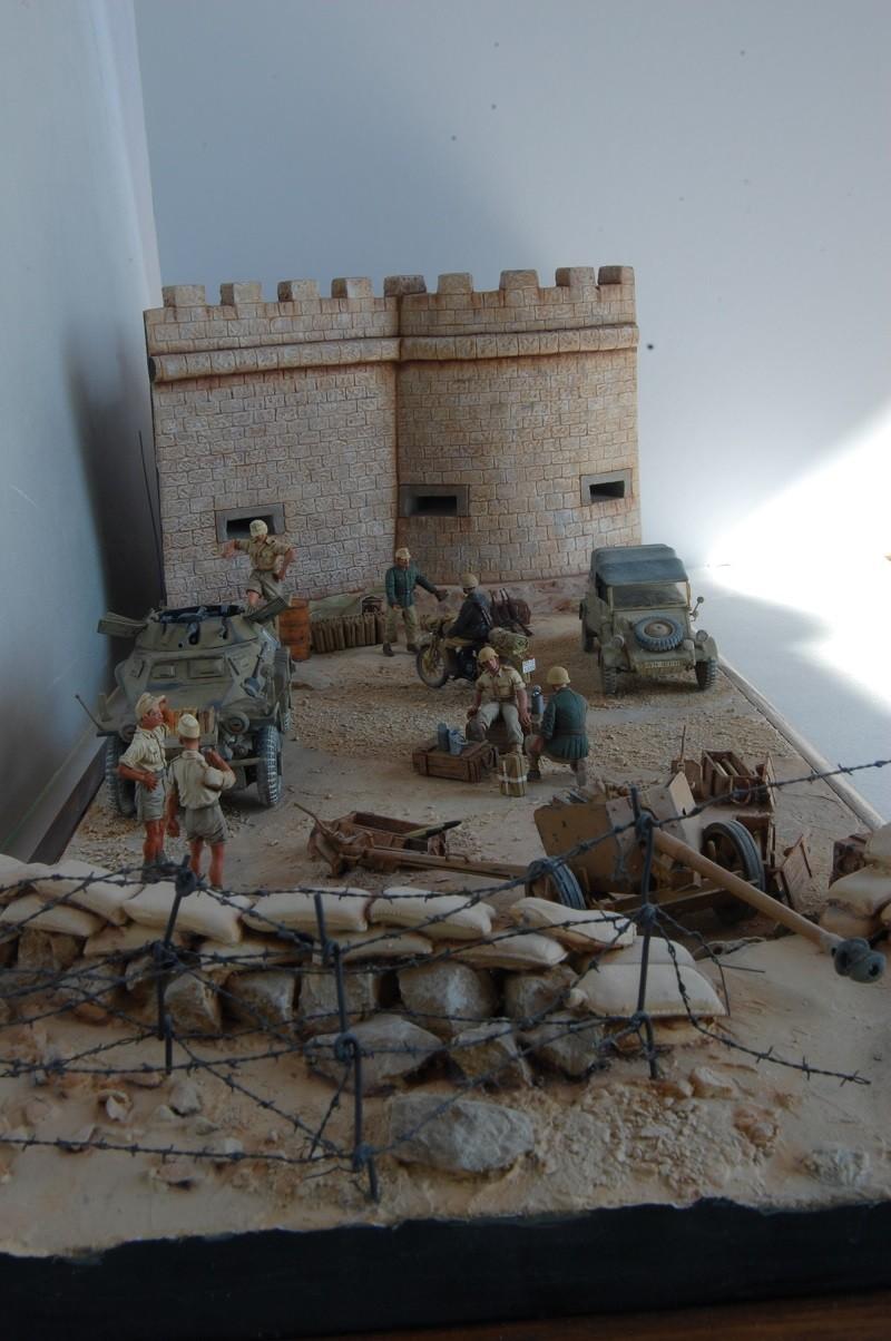 De Tobruk à El Alamein - Octobre 42 - Maquettes Tamiya et Italeri - Figurines MK35 - 1/35e Tobruk36