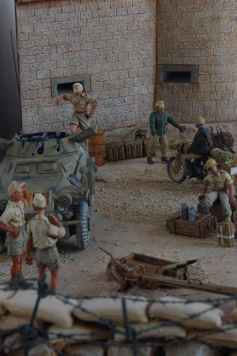 De Tobruk à El Alamein - Octobre 42 - Maquettes Tamiya et Italeri - Figurines MK35 - 1/35e Tobruk37