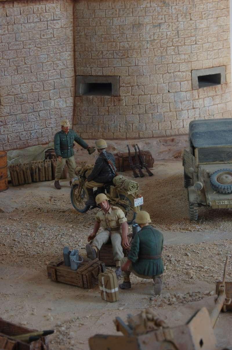 De Tobruk à El Alamein - Octobre 42 - Maquettes Tamiya et Italeri - Figurines MK35 - 1/35e Tobruk38