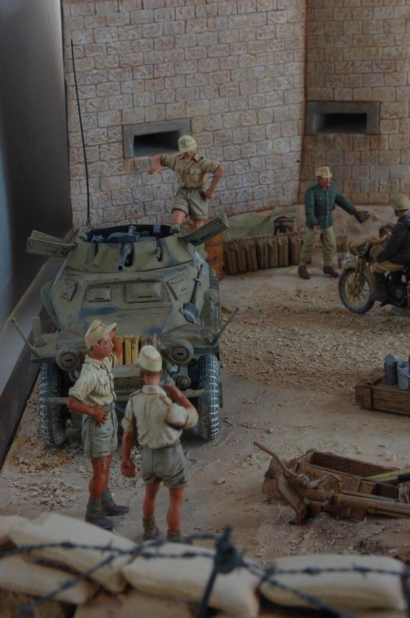 De Tobruk à El Alamein - Octobre 42 - Maquettes Tamiya et Italeri - Figurines MK35 - 1/35e Tobruk39