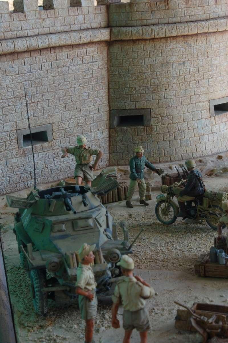 De Tobruk à El Alamein - Octobre 42 - Maquettes Tamiya et Italeri - Figurines MK35 - 1/35e Tobruk40