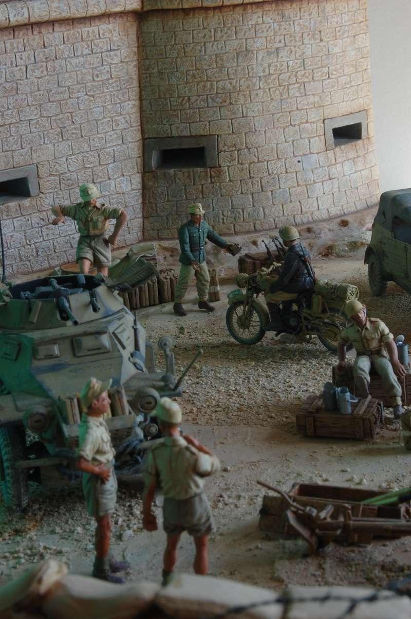 De Tobruk à El Alamein - Octobre 42 - Maquettes Tamiya et Italeri - Figurines MK35 - 1/35e Tobruk41