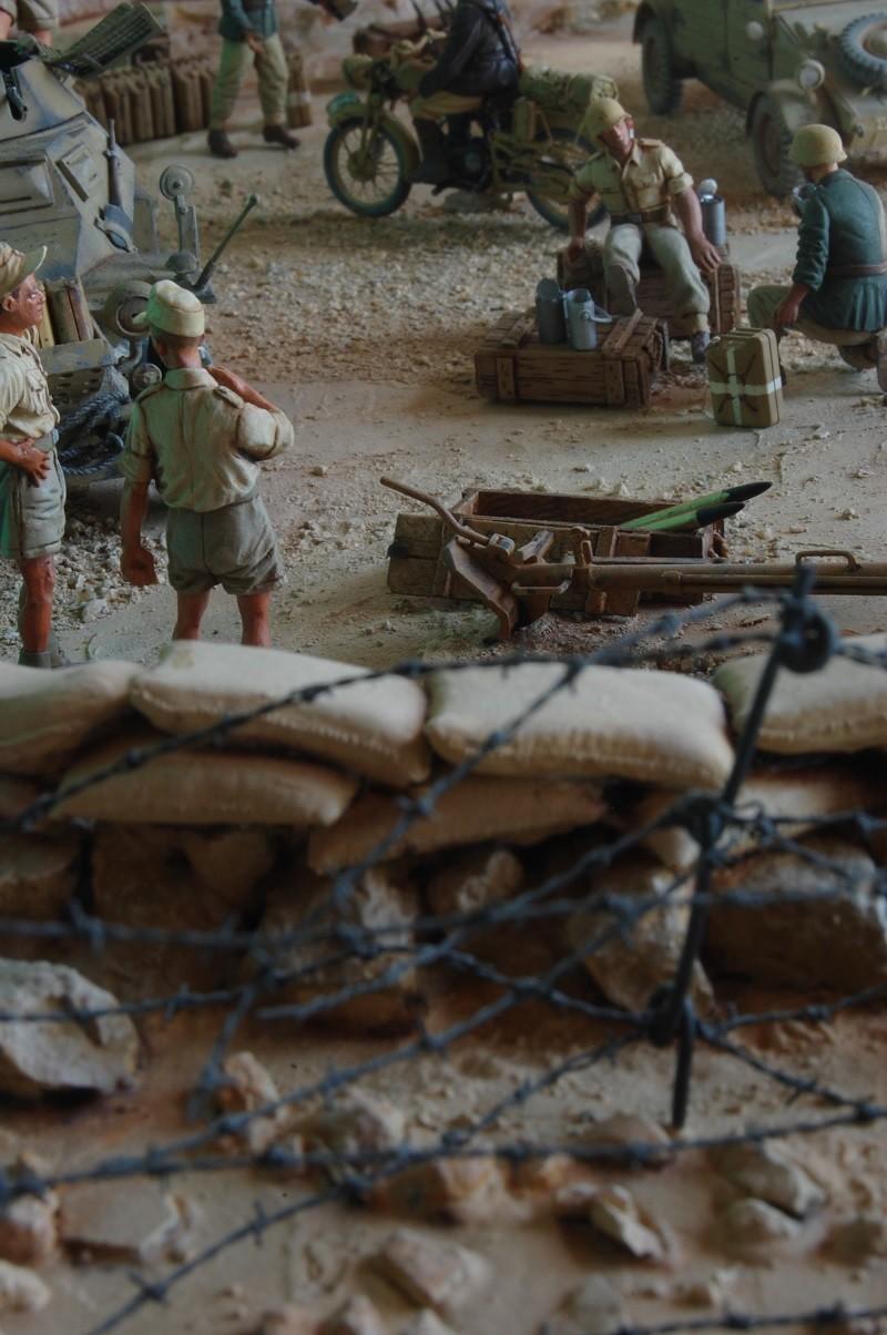 De Tobruk à El Alamein - Octobre 42 - Maquettes Tamiya et Italeri - Figurines MK35 - 1/35e Tobruk42