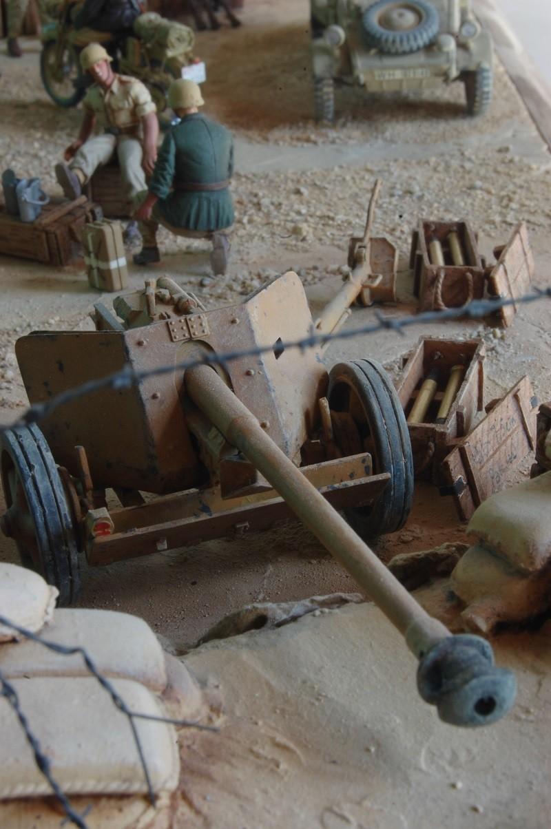 De Tobruk à El Alamein - Octobre 42 - Maquettes Tamiya et Italeri - Figurines MK35 - 1/35e Tobruk44