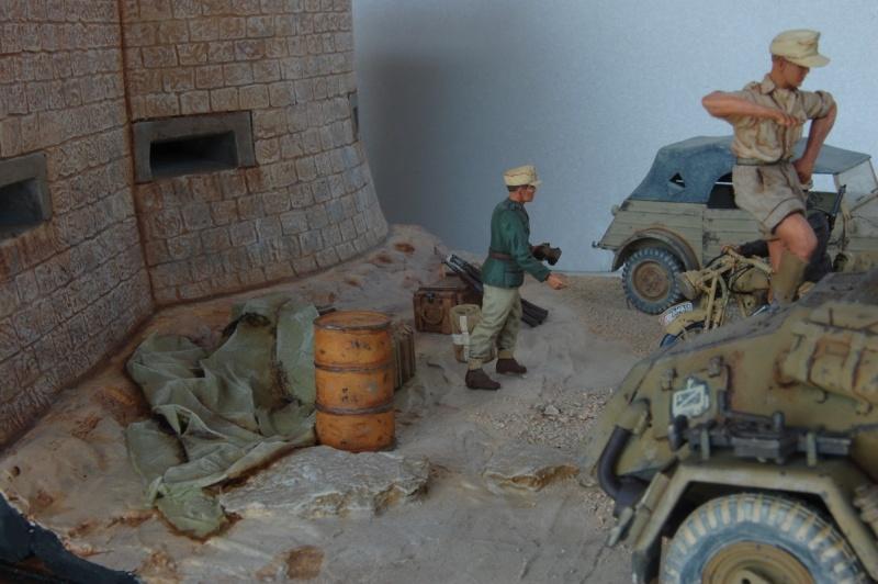 De Tobruk à El Alamein - Octobre 42 - Maquettes Tamiya et Italeri - Figurines MK35 - 1/35e Tobruk51