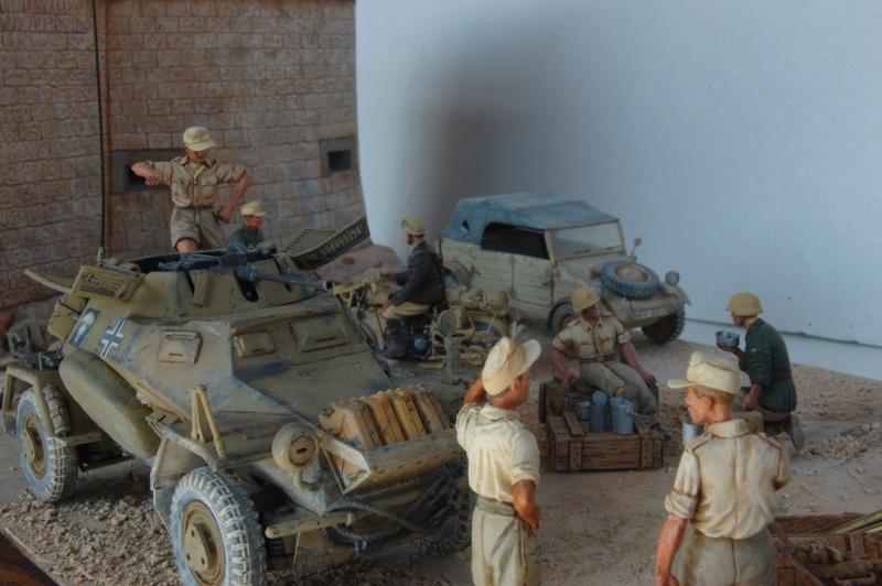 De Tobruk à El Alamein - Octobre 42 - Maquettes Tamiya et Italeri - Figurines MK35 - 1/35e Tobruk53