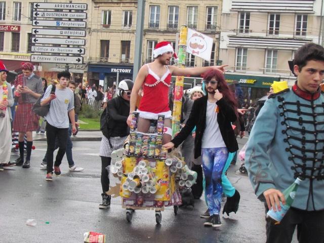 Carnaval  des étudiants à Caen 2 avril 2015 Carnav11