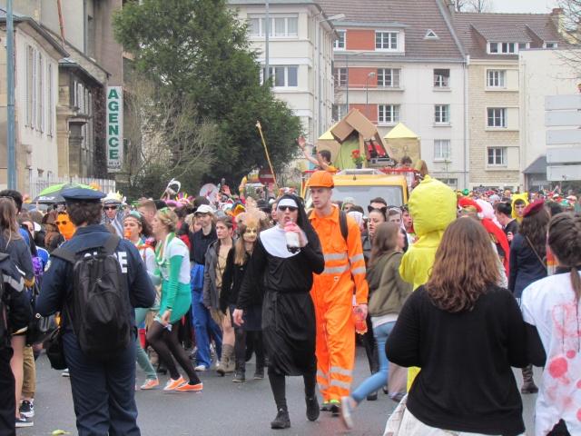 Carnaval  des étudiants à Caen 2 avril 2015 Carnav12