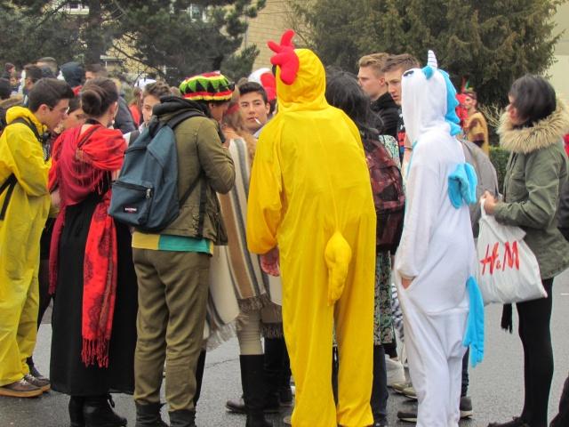 Carnaval  des étudiants à Caen 2 avril 2015 Carnav13