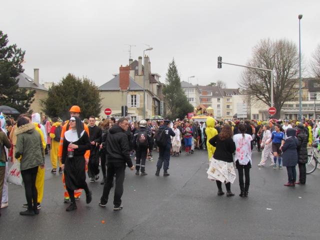 Carnaval  des étudiants à Caen 2 avril 2015 Carnav16