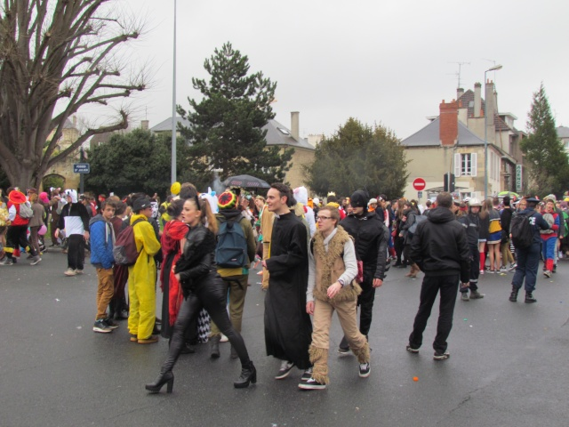 Carnaval  des étudiants à Caen 2 avril 2015 Carnav17