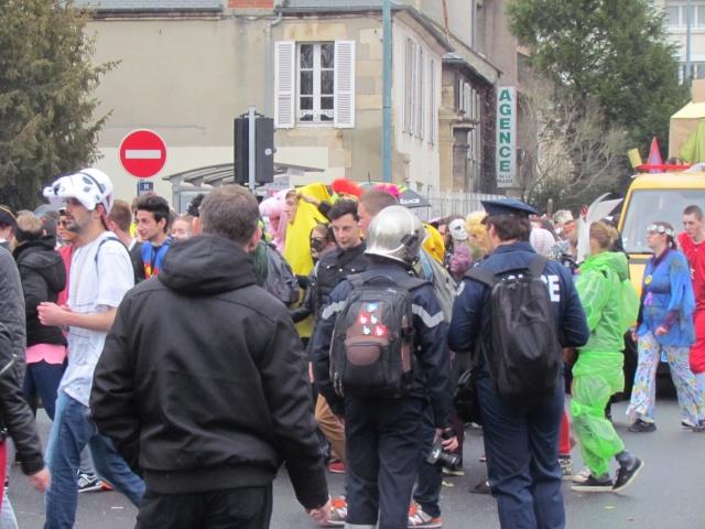 Carnaval  des étudiants à Caen 2 avril 2015 Carnav19
