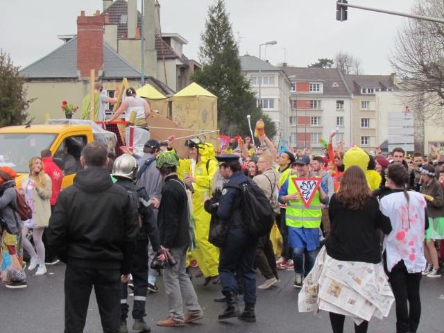 Carnaval  des étudiants à Caen 2 avril 2015 Carnav20