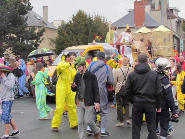 Carnaval  des étudiants à Caen 2 avril 2015 Carnav21