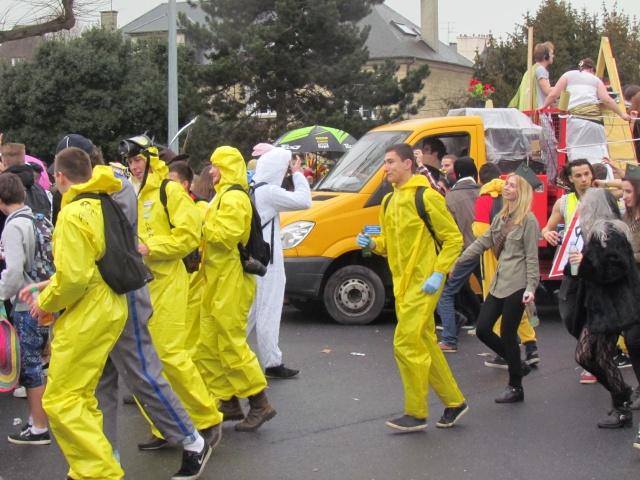 Carnaval  des étudiants à Caen 2 avril 2015 Carnav22