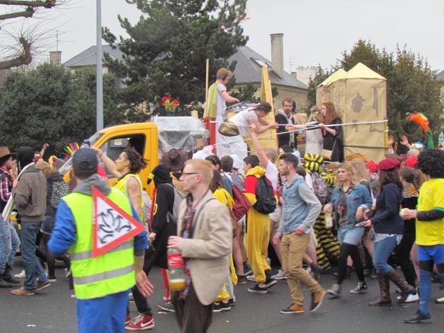 Carnaval  des étudiants à Caen 2 avril 2015 Carnav23
