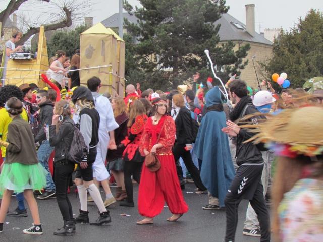 Carnaval  des étudiants à Caen 2 avril 2015 Carnav25