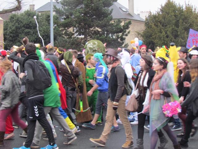 Carnaval  des étudiants à Caen 2 avril 2015 Carnav26