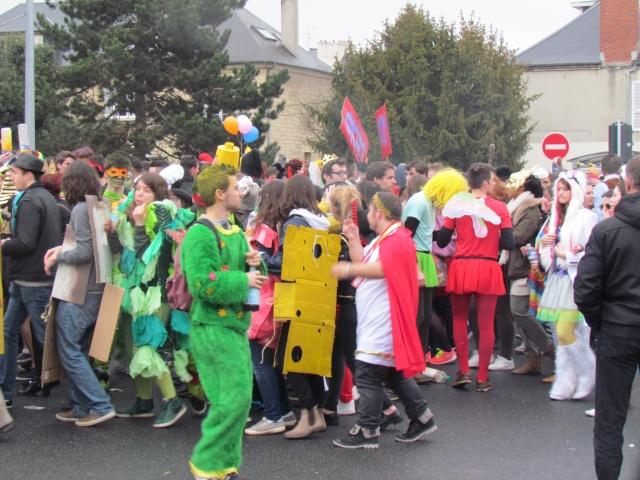 Carnaval  des étudiants à Caen 2 avril 2015 Carnav27