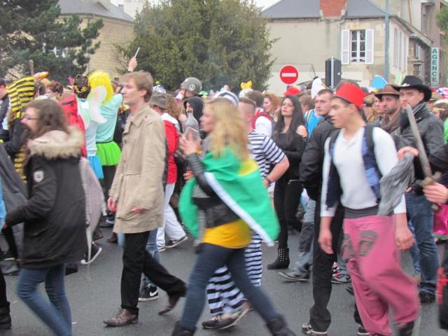 Carnaval  des étudiants à Caen 2 avril 2015 Carnav28