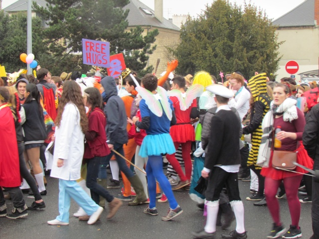 Carnaval  des étudiants à Caen 2 avril 2015 Carnav29