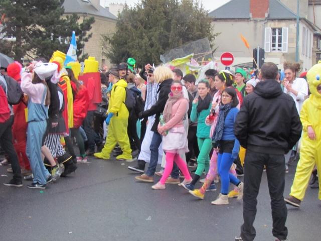 Carnaval  des étudiants à Caen 2 avril 2015 Carnav33