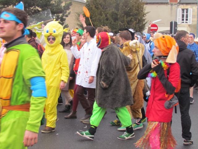 Carnaval  des étudiants à Caen 2 avril 2015 Carnav34