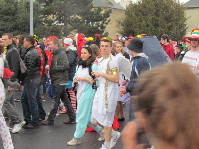 Carnaval  des étudiants à Caen 2 avril 2015 Carnav37