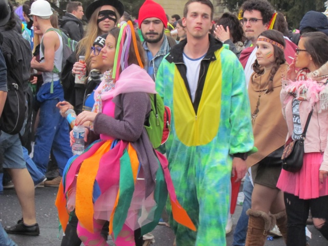 Carnaval  des étudiants à Caen 2 avril 2015 Carnav39