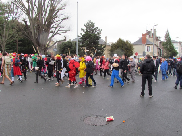 Carnaval  des étudiants à Caen 2 avril 2015 Carnav40