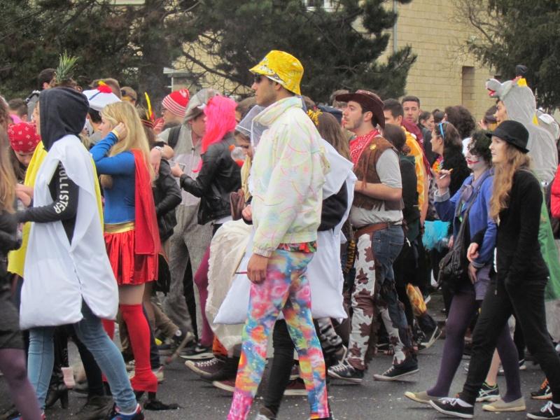 Carnaval  des étudiants à Caen 2 avril 2015 Carnav45