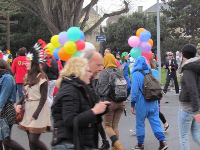 Carnaval  des étudiants à Caen 2 avril 2015 Carnav46