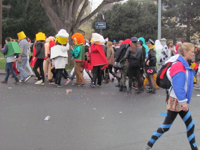 Carnaval  des étudiants à Caen 2 avril 2015 Carnav47