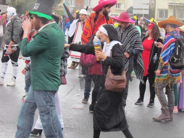 Carnaval  des étudiants à Caen 2 avril 2015 Carnav49