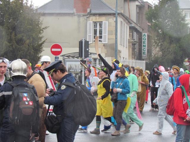 Carnaval  des étudiants à Caen 2 avril 2015 Carnav50