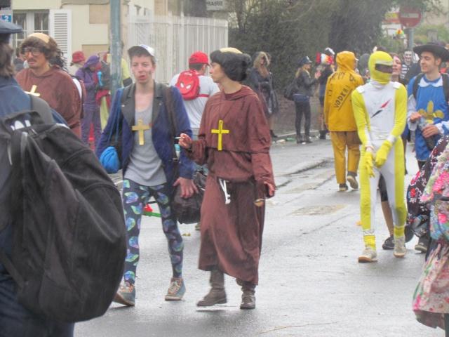 Carnaval  des étudiants à Caen 2 avril 2015 Carnav51