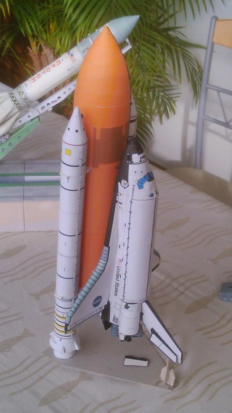 Maquette en papier Saturn10
