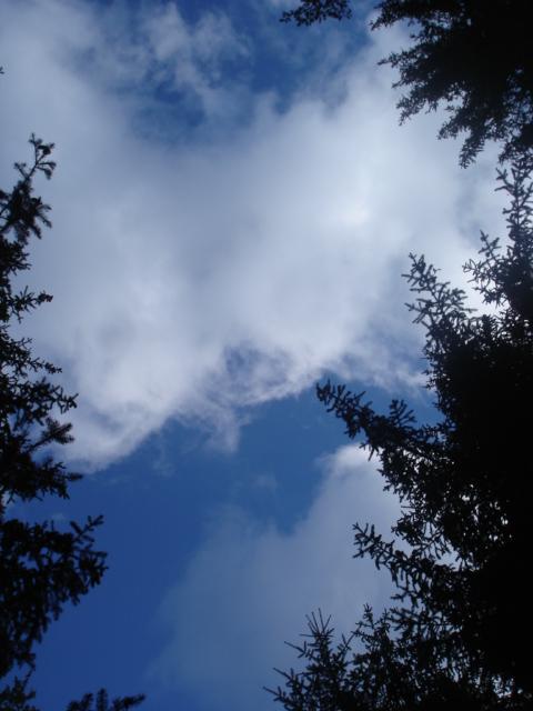 Le temps à Madelonnet du mois de septembre 2007 Ciel10