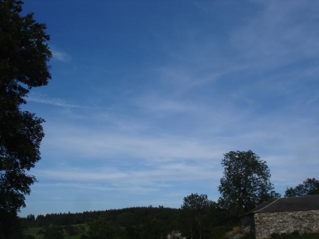 Le temps à Madelonnet du mois de septembre 2007 Est11