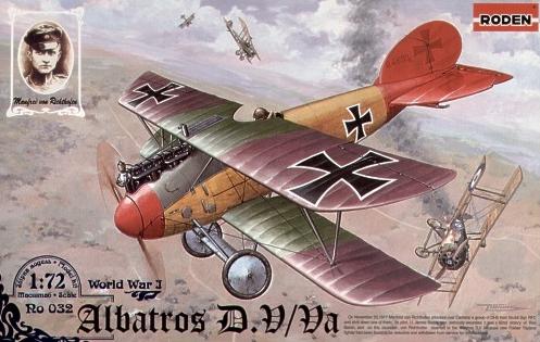Duo d'Albatros D-Va, Roden 1/72 _kit_r10