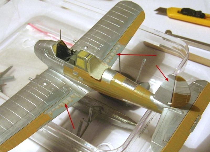 Montage: Arado Ar196A, Sword 1/72 - Page 2 Montag12