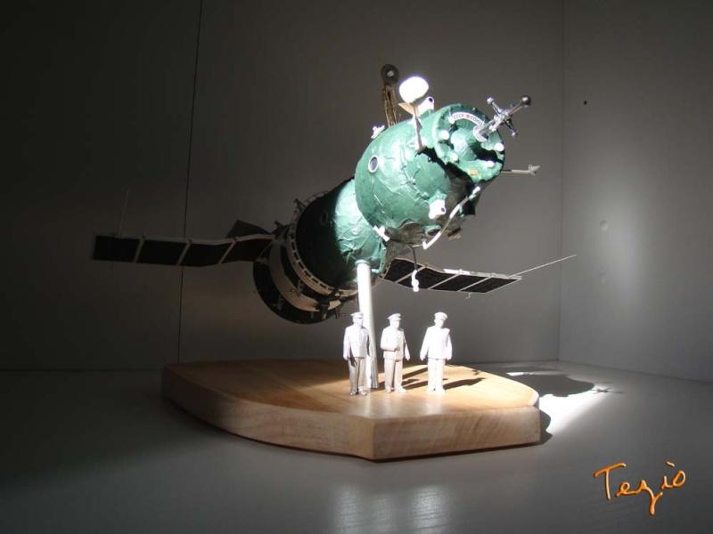 Maquette SOYOUZ première génération 7K-OK by Tezio Fodsc011