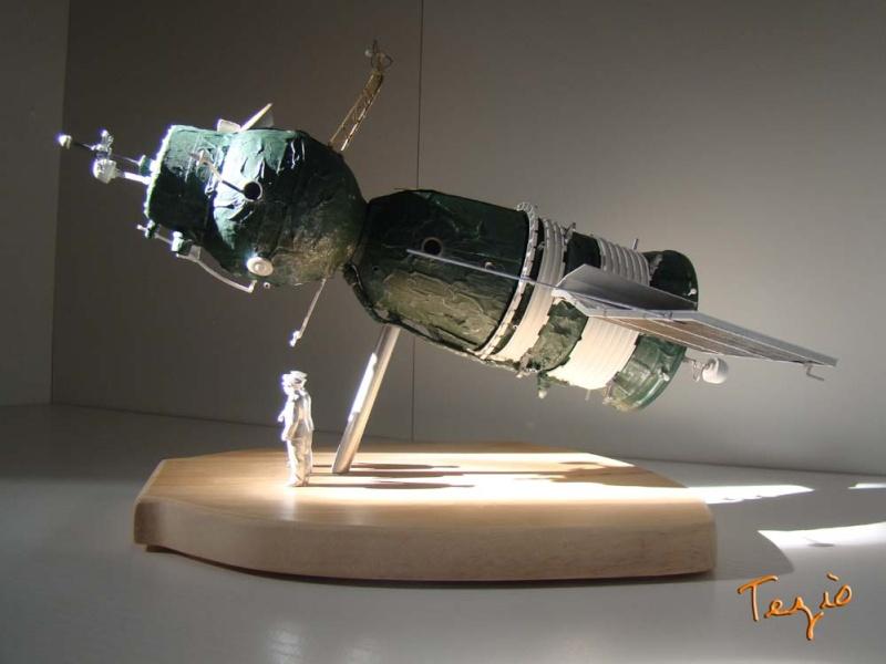 Maquette SOYOUZ première génération 7K-OK by Tezio Fodsc013