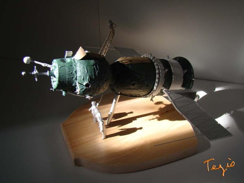 Maquette SOYOUZ première génération 7K-OK by Tezio Fodsc014