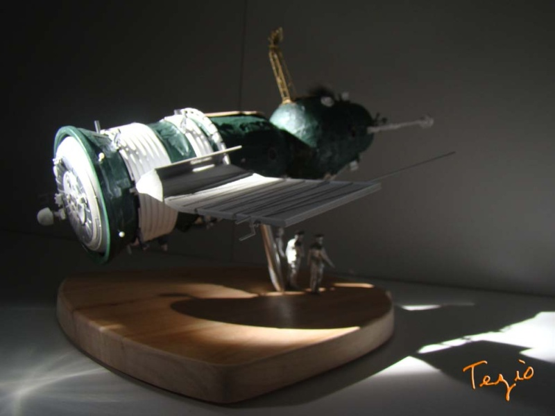 Maquette SOYOUZ première génération 7K-OK by Tezio Fodsc017