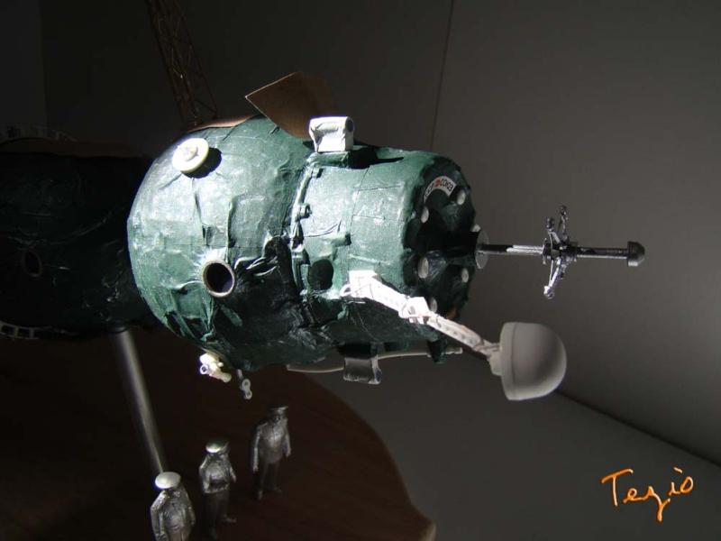 Maquette SOYOUZ première génération 7K-OK by Tezio Fodsc019