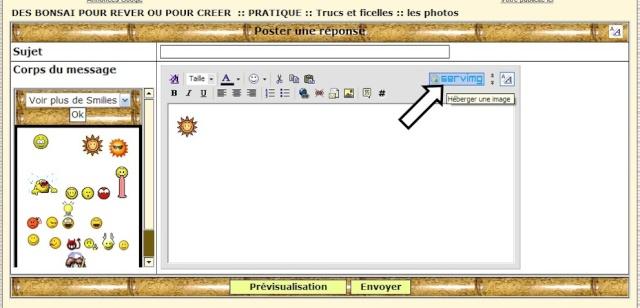 comment insérer une photo Tuto12