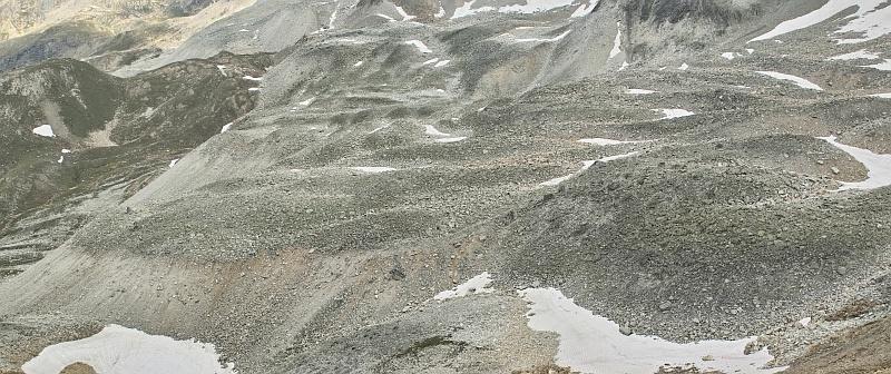 Col de Bailletta / Vallon de Sassière / Passage de Picheru Glacie11