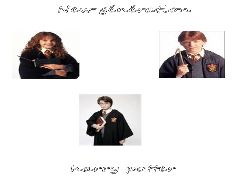 Harry potter new génération