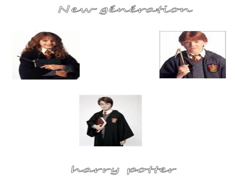 Harry potter new génération